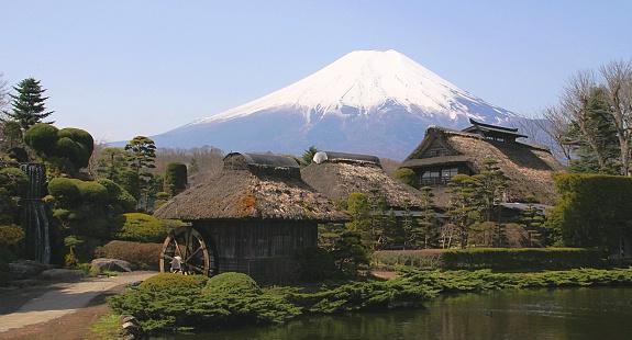 Kết quả hình ảnh cho Oshino Hakkai nhật bản