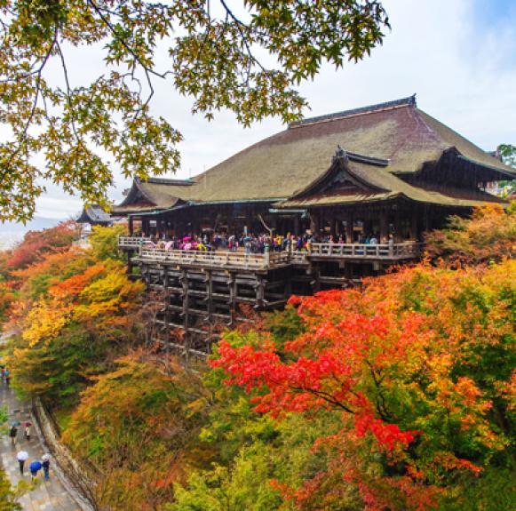 Kiyomizu dera – Chùa Thanh Thủy (Kyoto)