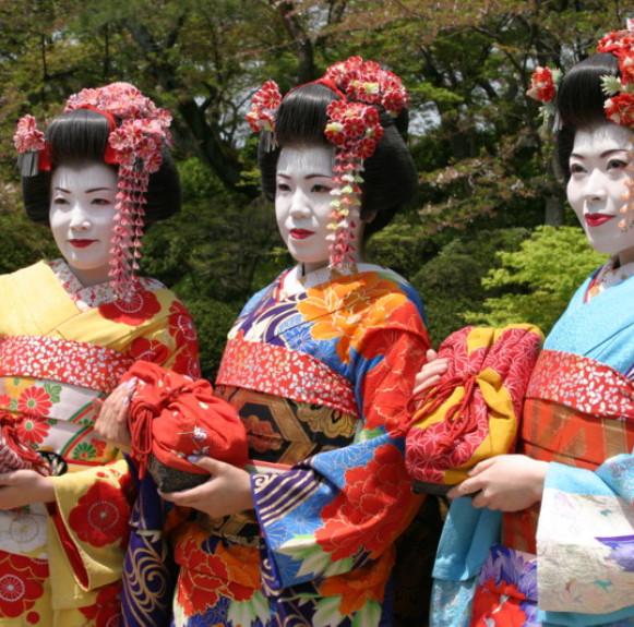 Kimono - Nét đẹp say đắm lòng người