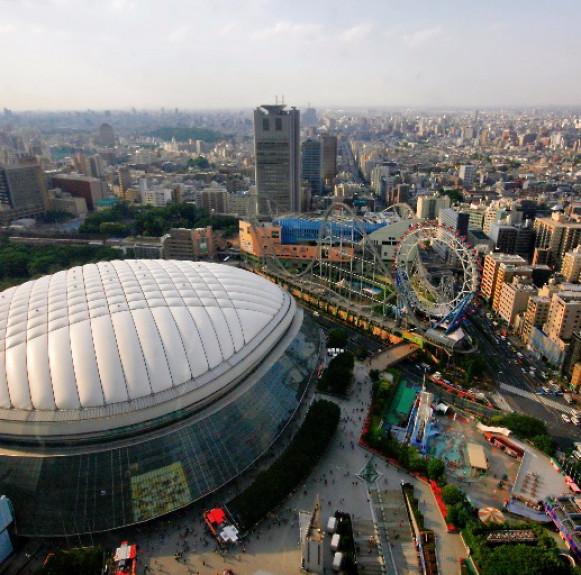 Tokyo Dome - kiến trúc kỳ lạ của Nhật