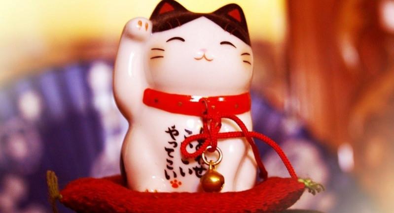 Kết quả hình ảnh cho Mèo may mắn Maneki Neko