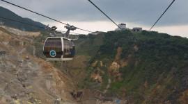 Tuyến dây cáp tham quan Owakudani - Hakone được phục hồi từ ngày 26/07/2016