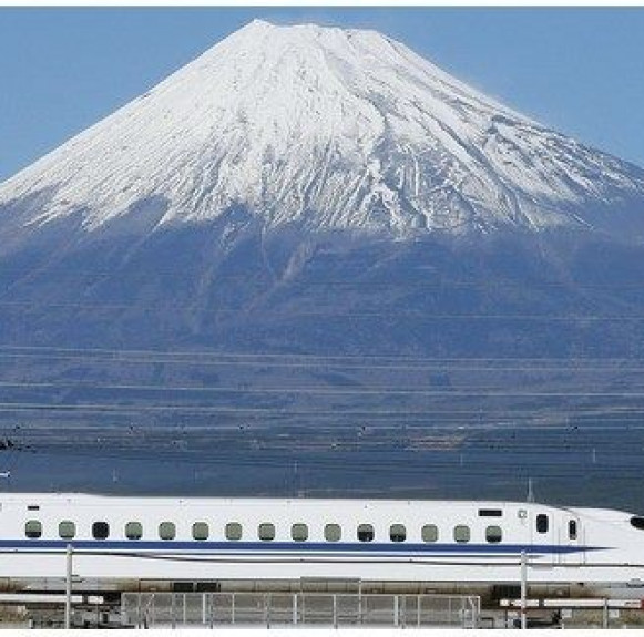 Tàu siêu tốc Shinkansen giúp Tokyo lột xác