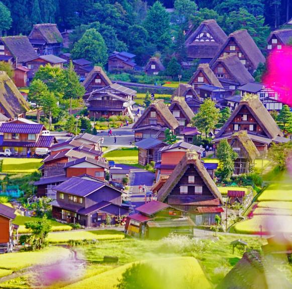 Làng cổ Shirakawa-go và Gokayama, miền Trung Nhật Bản