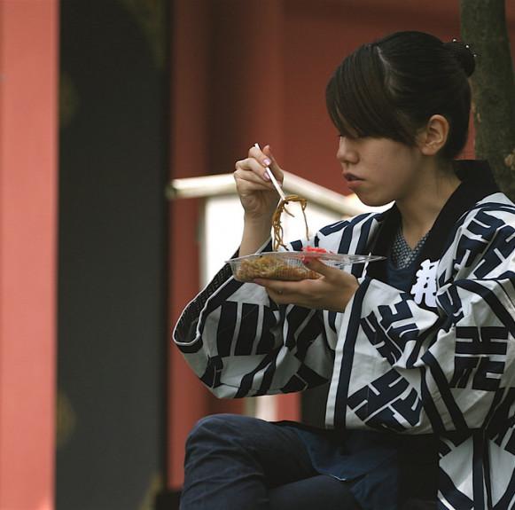 Cách ăn mì của người Nhật