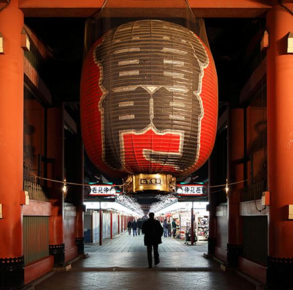 BẬT MÍ NGÔI CHÙA CỔ NHẤT TOKYO: CHÙA ASAKUSA KANNON