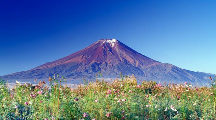 Đây là một núi lửa còn hoạt động và là ngọn núi cao nhất của Nhật Bản với độ cao tuyệt đối: 3.776 mét. Đỉnh núi Phú Sĩ quanh năm tuyết phủ, tạo nên một vẻ đẹp hùng vĩ, tráng lệ. Dưới chân núi có 5 hồ nước ngọt lớn, đó là: Kawaguchi,Yamanaka, Sai, Motosu và Shoji. Cùng với Hồ Ashi ở gần đó, chúng tạo nên một cảnh quan tuyệt đẹp cho ngọn núi. Đây là một phần trong Công viên Quốc gia Phú Sĩ-Hakone-Izu.